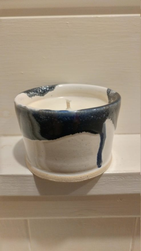 Pottery Candle