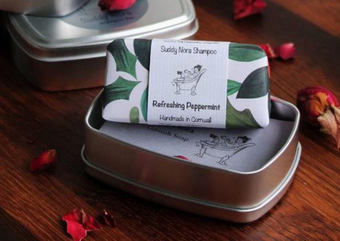 Refreshing Peppermint Shampoo Bar