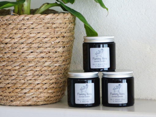 Black Fig & Vetiver No1 Candle Small