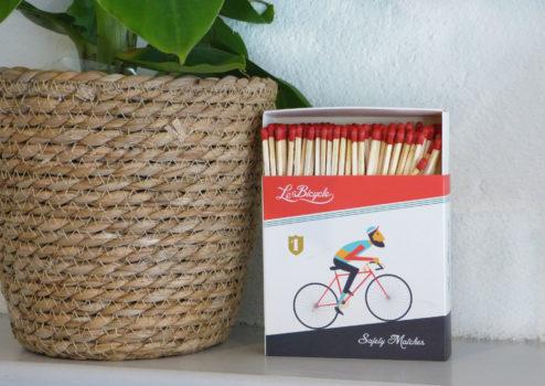 Novelty Safety Matches - Bike