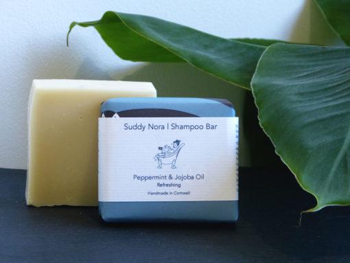 Peppermint & Jojoba Oil Shampoo Bar