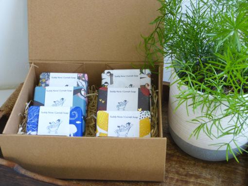Luxury Gift Box of 6 Soaps
